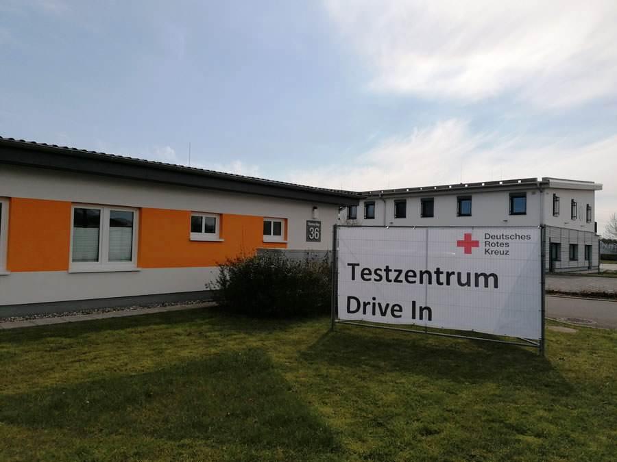 DRK Corona Testzentrum Putbus Rügen